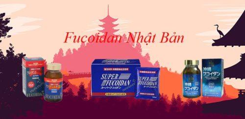 Lợi ích tuyệt vời từ thuốc Fucoidan Nhật Bản
