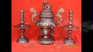 Điểm mặt 5 món đồ đồng thờ cúng không thể thiếu trên bàn thờ gia tiên