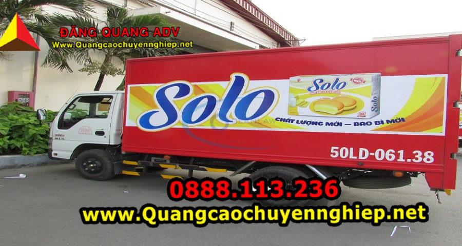 Quy định về luật Quảng cáo trên xe tải1