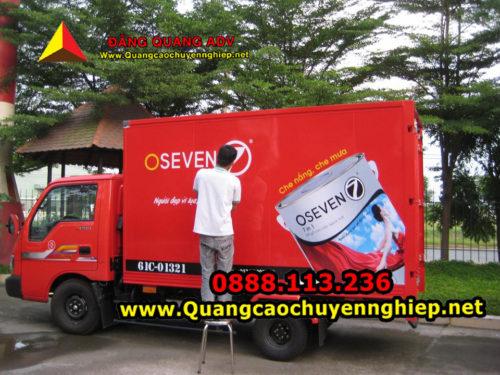 Quy định về luật Quảng cáo trên xe tải