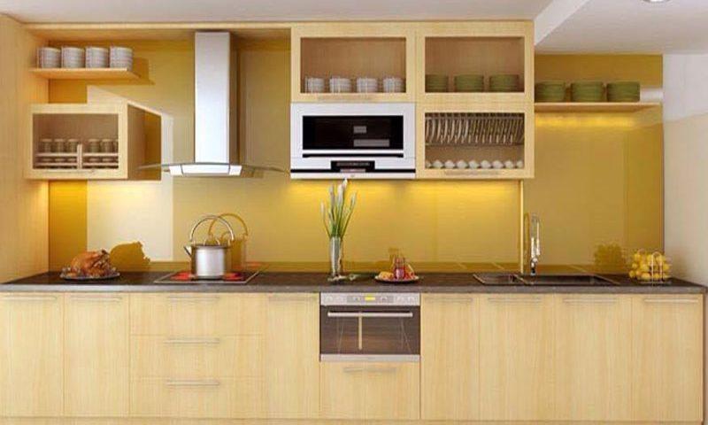 Cách chọn màu sắc kính ốp bếp phù hợp với phong thủy(2)