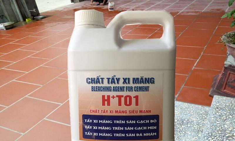 Có nên sử dụng chất tẩy mốc HT01 để tẩy xi măng trên nền gạch (2)