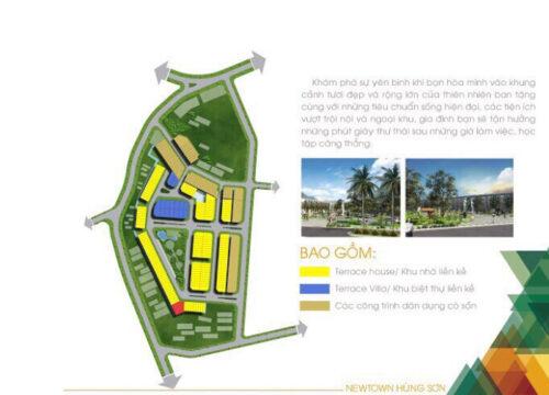 Dự án newtown hùng sơn: Khu đô thị xanh kiểu mẫu dành cho gia đình Việt